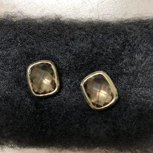 David Yurman smoky quartz earring 750 (18K) 925